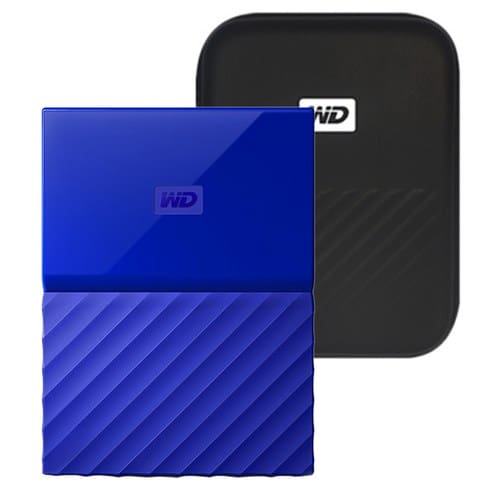 Product Image of the WD My Passport 외장 하드+파우치